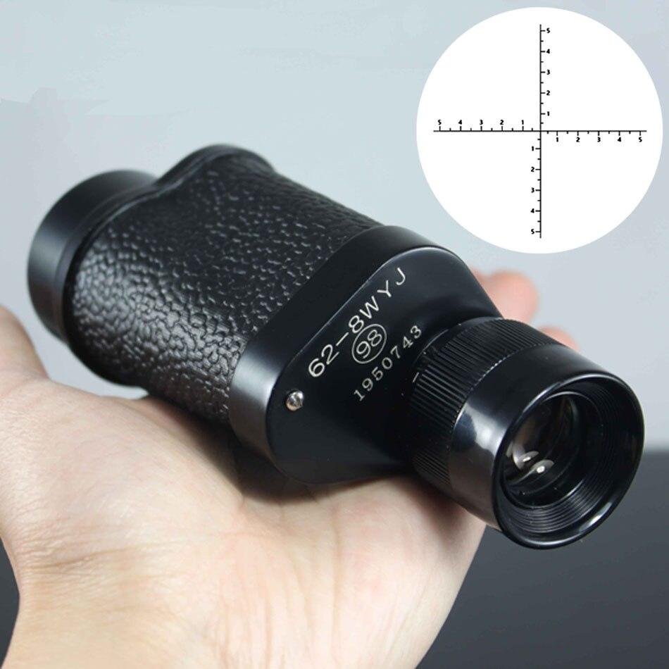 8x30 télescope monoculaire de chasse professionnel jumelles télémètre télémètre nuit Observé maillots de bain femmes outils de pêche