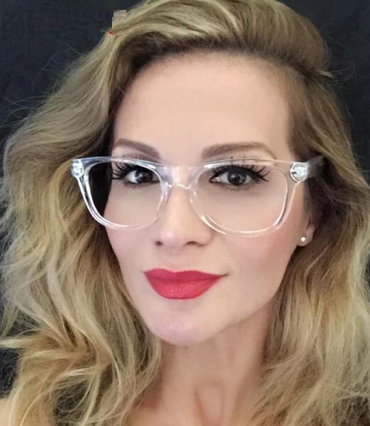 Women Eyeglasses Brand Designer Transparent Frame