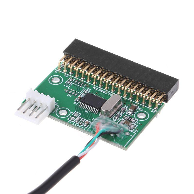 """1,44 МБ 3,"""" USB кабель адаптер для 34Pin дисковод разъем U диск для гибких дисков печатная плата Прямая поставка"""