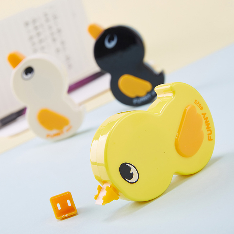 Lovely Cute Funny Duck Correction Tape 6m*5mm School Office Stationery Gifts Prize For Kids Student Supplies