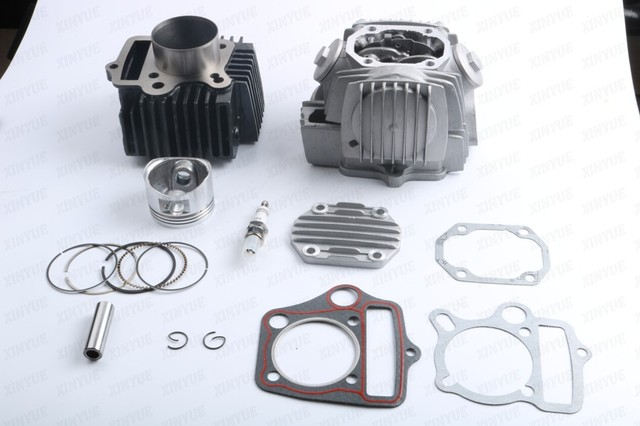 52 4mm CYLINDER ENGINE REBUILD KIT CHINESE 110CC C110 ROKETA TAOTAO SSR ATV  DIRT BIKE-in Kickstarters & Parts from Automobiles & Motorcycles