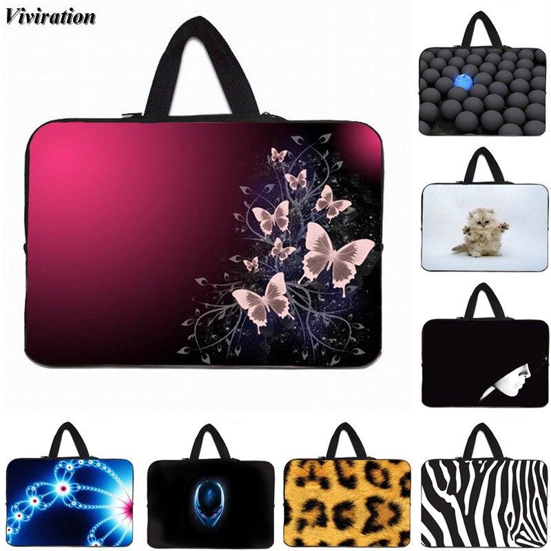Beautiful Women Girls Laptop Sleeve Bag 15 13 10 12 14 17 Inch Viviration Neoprene Zipper Notebook Pouch Case For Lenovo Sony HP