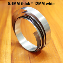 1m Nickel-plated Battery Pack 32650 Spot-welded Steel Strip 0.1mm Thick * 12mm Wide