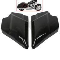 ABS Side Cover Panel For Harley Davidson Touring Street Glide 09 18 Vivid Black Left Right