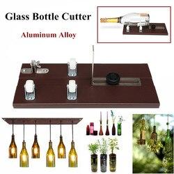 Cortador de Garrafa De vidro de Corte da Espessura 3-10mm Liga de Alumínio Melhor Criar Esculturas De Vidro Coletores Do Sol De Controle De Corte Resistentes