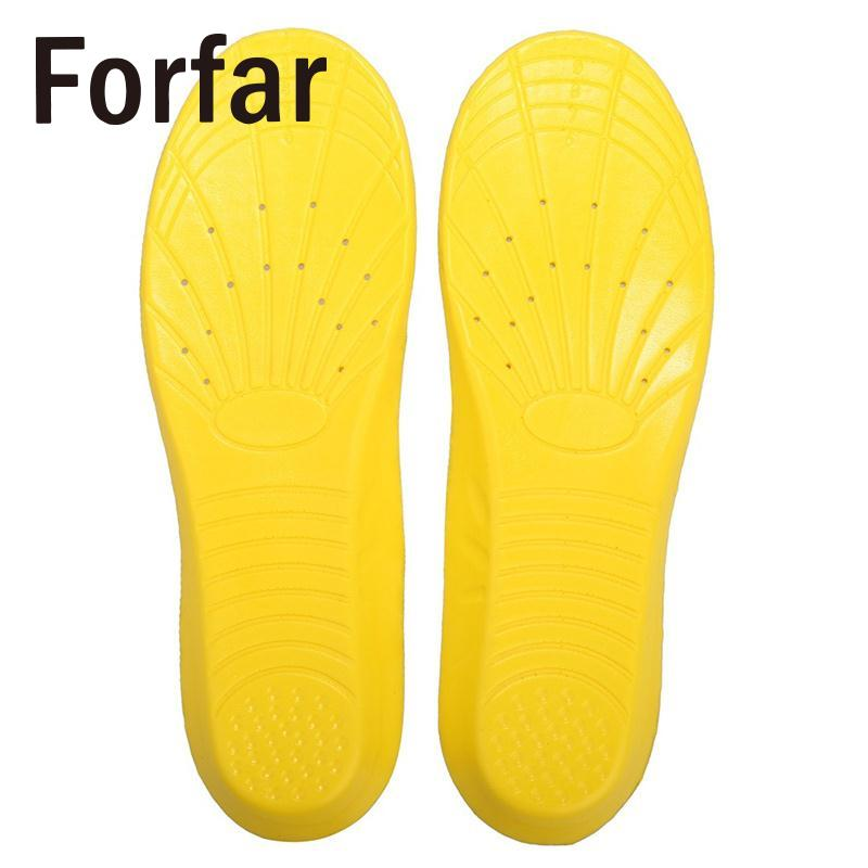 1 Pair Memory Foam Breathable Sweat Absorbing Orthotic Arch Soft Comfortable Athletic Insole Shock Pad Outdoor Tool 41-45 size
