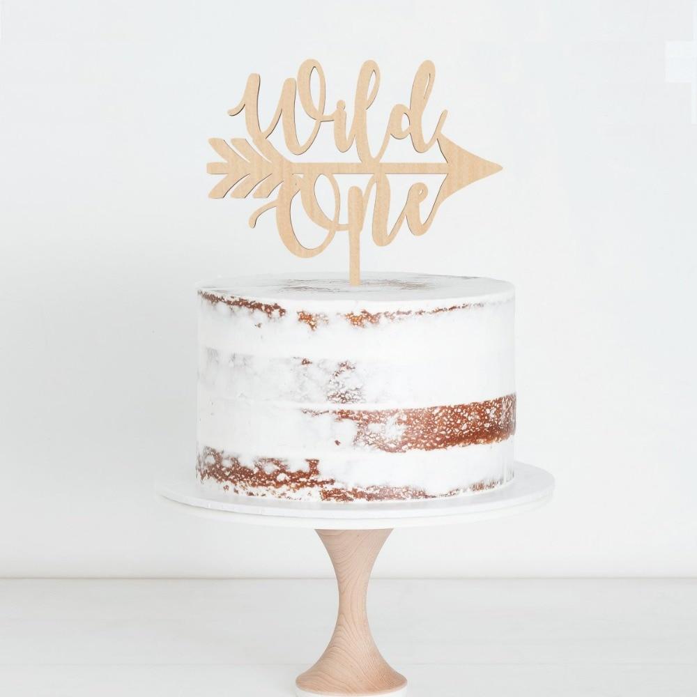 Wondrous Wild One Happy Birthday Cake Topper Birthday Party Cake Topper Birthday Cards Printable Nowaargucafe Filternl