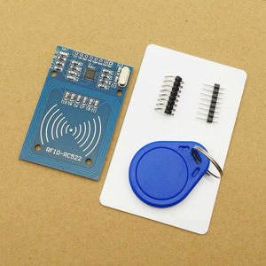Image 1 - 1 zestaw MFRC 522 RC 522 RC522 RFID bezprzewodowy moduł IC S50 Fudan SPI Writer czytnik kart breloczek zestawy czujników 13.56Mhz dla Uno