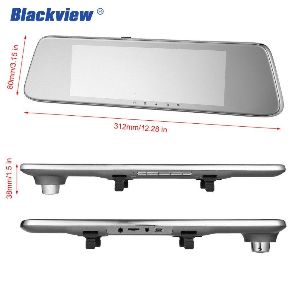 BLACKVIEW HS8C Car Dash cam 8 Inch Screen Rear view Camera Car Dvr Mirror Dual Lens Night Vision FHD 1080P Video Recorder Hot 9