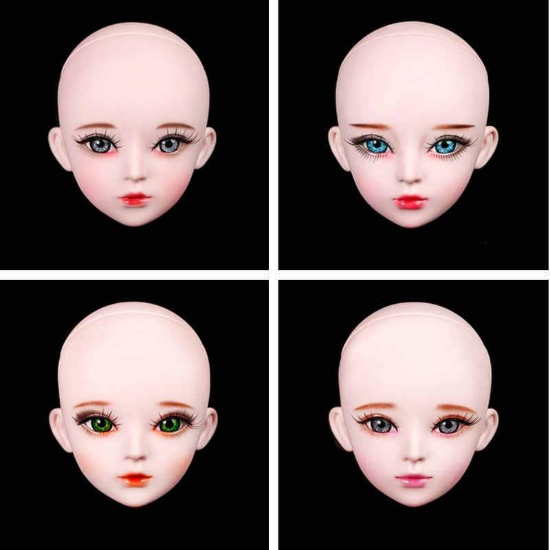 55 см Bjd 1/3 Обнаженная Кукла тело женщины 23 шарнирная Обнаженная девушка Кукла тело женская кукла аксессуары девушки игрушки подарок