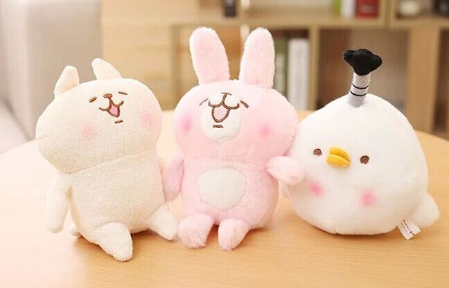 15cm/20cm/30cm Japan kanahei small animal plush toy doll pink bunny plush, chicken plush,cat plush stuffed doll baile pink bunny эрекционное кольцо с вибрацией
