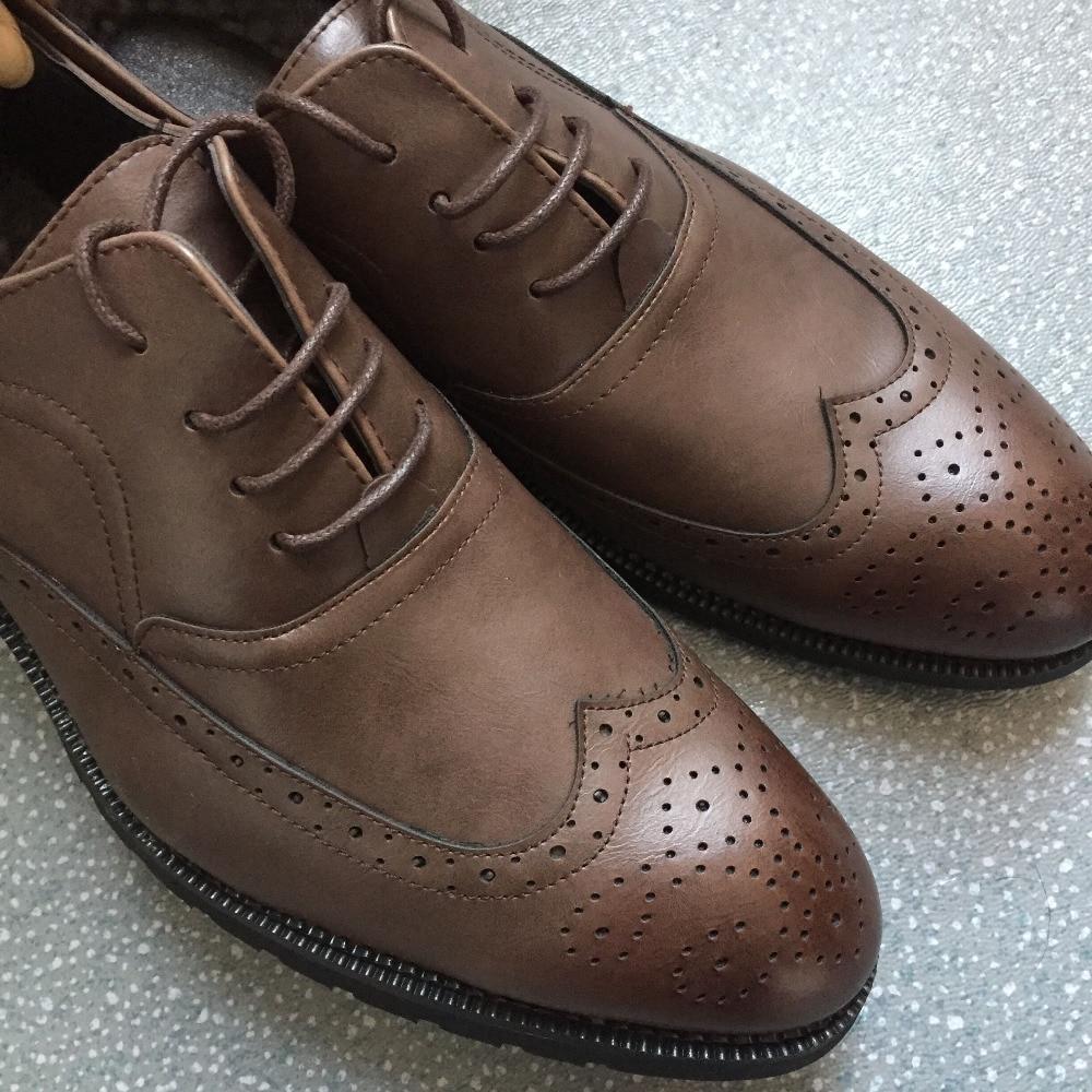 Hommes Robe Parti Mariage Oxford De Vintage Chaussures Mode 5Swxqtg1U
