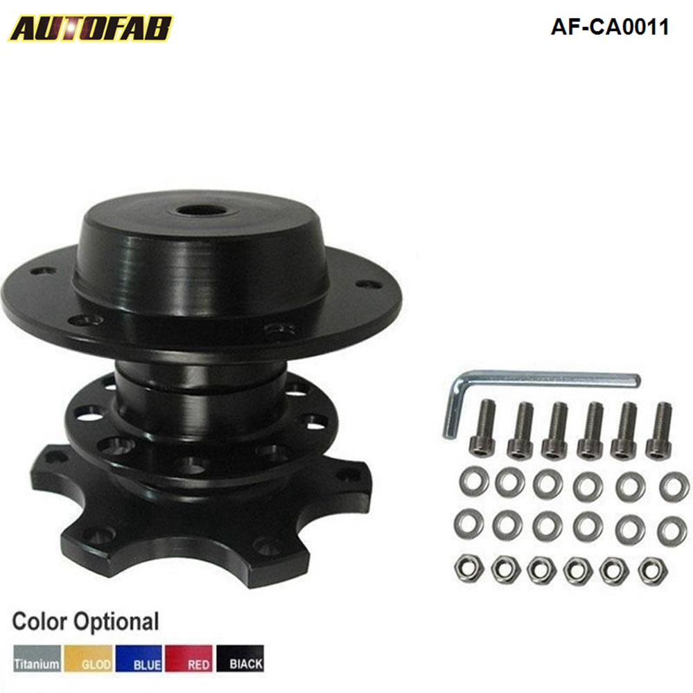 Quick Release Snap Off Steering Wheel Adapter Kit Boss Hub Universal Racing