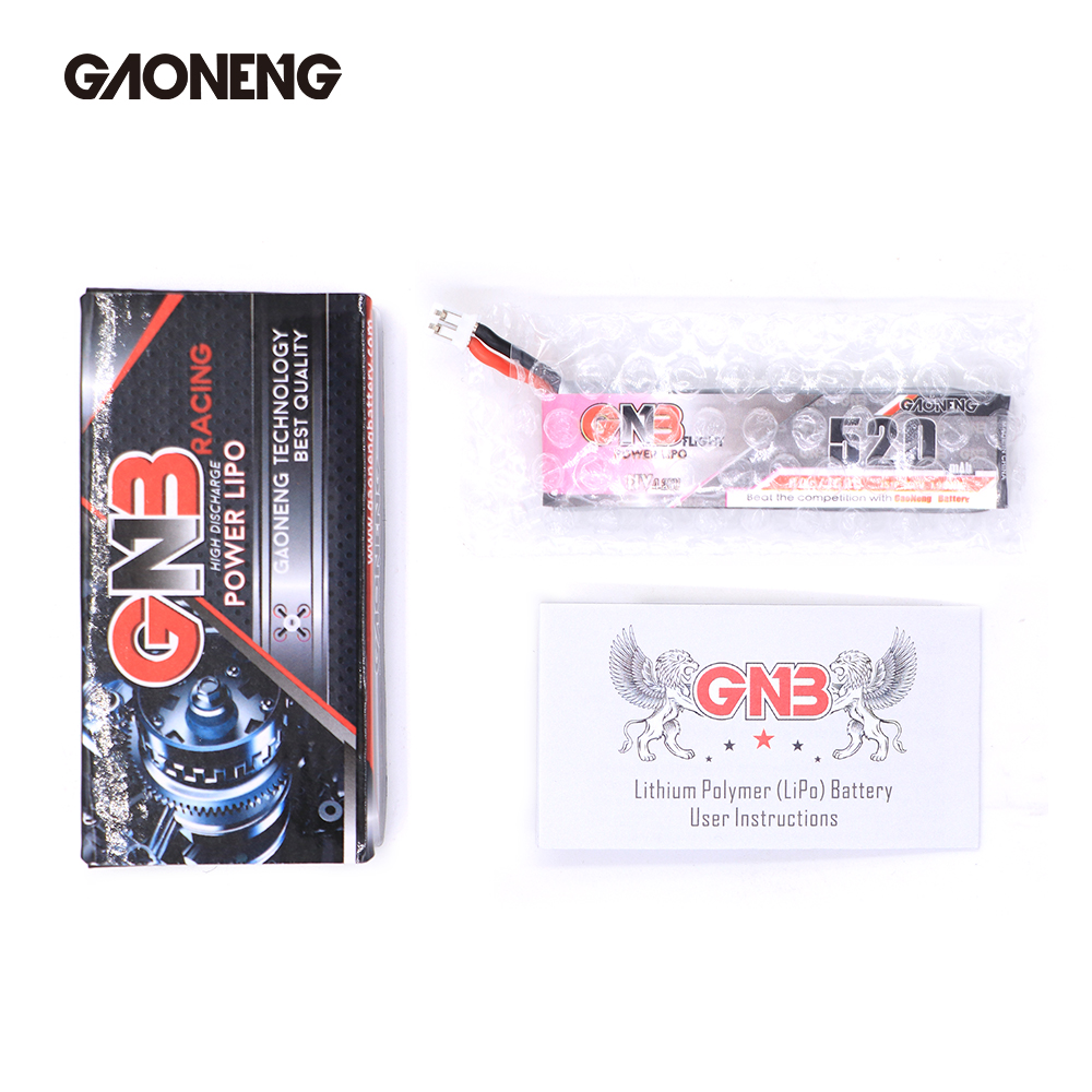 Image 5 - 5PCS Gaoneng GNB FPV Batteries 520mAh 3.8V 80C 1S HV 4.35V PH2.0 Plug Lipo Battery For Emax Tinyhawk Kingkong LDARC TINY-in Parts & Accessories from Toys & Hobbies