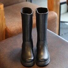 Новый Женская зимняя обувь для девочек зимние сапоги теплая обувь slipproof Водонепроницаемый искусственная кожа обувь Плюшевые обуви 950