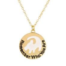 Lion King Simba Halskette Inspiriert Schmuck Erinnern, Die Sie sind Buchstaben Choker Frauen Mode Zubehör 50cm + link Kette geschenk