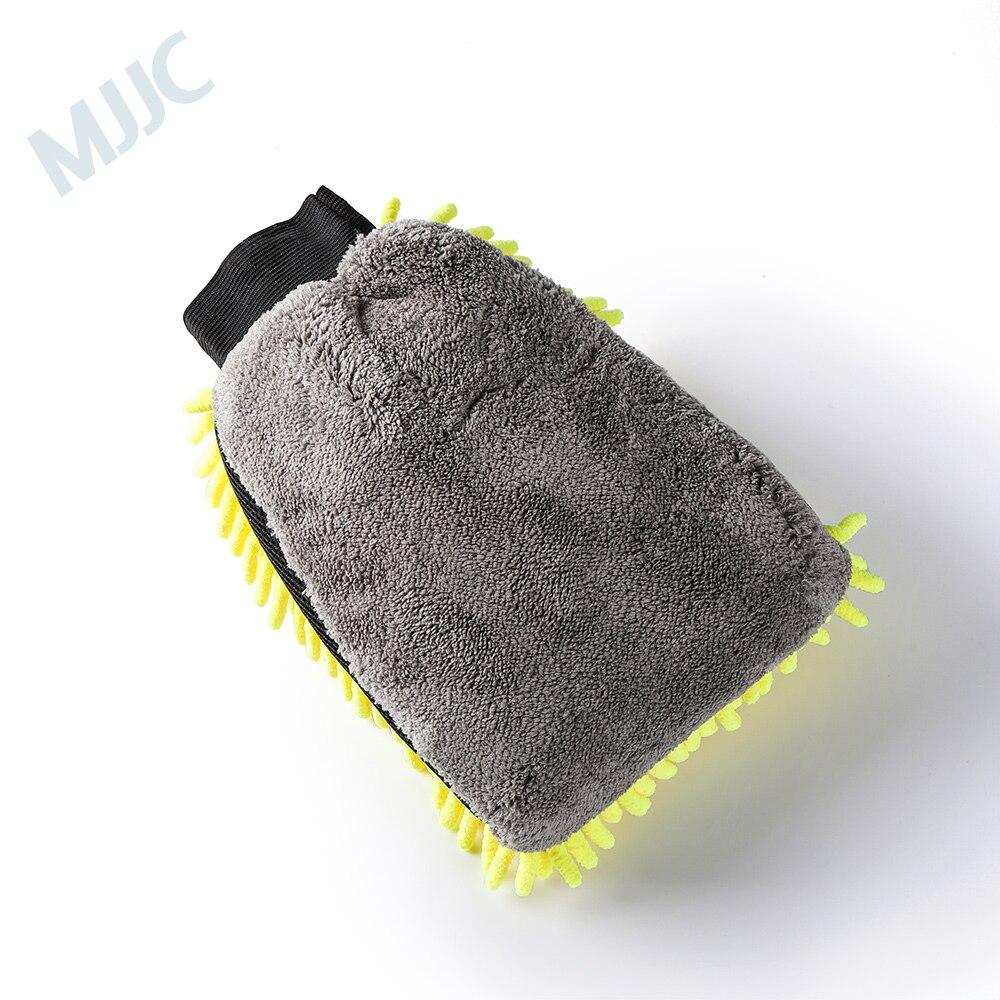 MJJC Mikrofaser Und Chenille Waschen Mitt Mit Wasserdichte Liner Innen Ultra Soft Auto Mit Wasch
