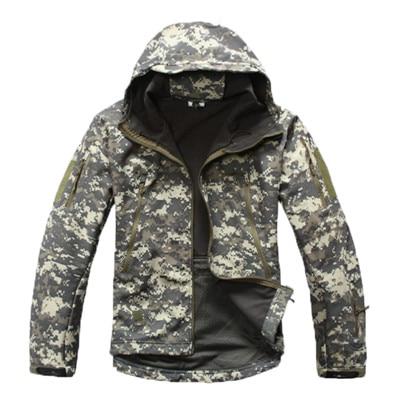 Zuoxiangru vêtements automne hommes militaire Camouflage polaire veste armée tactique vêtements Multicam mâle Camouflage coupe-vent - 4