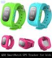 Dhl 10 pçs/lote Q50 inteligente Watch Phone crianças Kid inteligente GPS Tracker Anti perdido SOS relógio de pulso dial chame Smartwatch para iOS Android