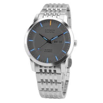 EPOCH 6023GN waterproof 100m tritium gas luminous mens business mechanical watch wristwatch - DISCOUNT ITEM  6% OFF All Category