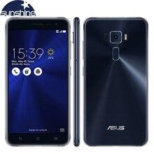 Original Asus ZenFone 3 ZE552KL LTE 5.5'' 16.0MP Mobile phone Qualcomm Octa-core 4G RAM 64G ROM Fingerprint Cellphone