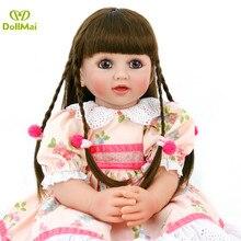 Personalizado muñeca 60cm de vinilo de silicona renacer niña bebe muñeca l o l juguetes de regalo sorpresa
