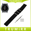 20mm nylon watchband cinta zulu para samsung gear s2 classic sm-r732/homens moto 360 2 r735 42mm watch band cinto de tecido pulseira