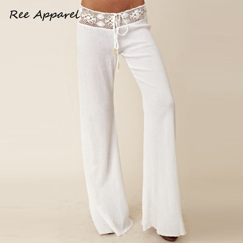 Popular White Lace Pants-Buy Cheap White Lace Pants lots from ...
