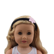 Set Black Hair bands American girl doll dress for 18inch doll clothes for children best gift(China)