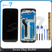 100% test LCD Screen For Motorola Moto E5 Plus LCD Display With Touch Screen Assembly With Frame original lcd screen display with touch digitizer and front frame assembly for motorola moto g4 plus shipped by dhl ems