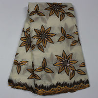 African Fabric With Sequins For Women Dress Black White African Lace Fabric Blue Red Gold Sequin