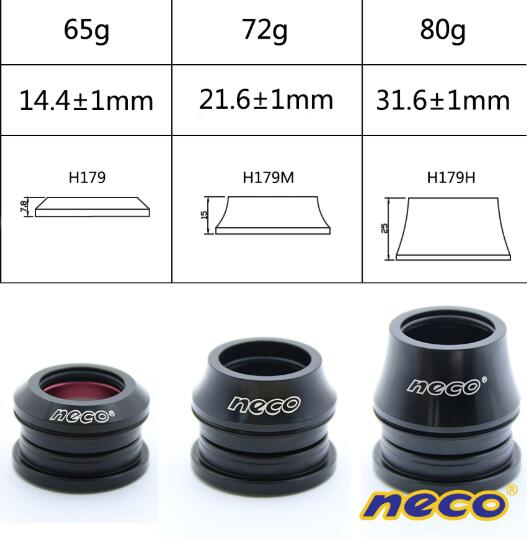 Neco Headsets Small Tapered Fork for Giant/ATX777/XTC820/860