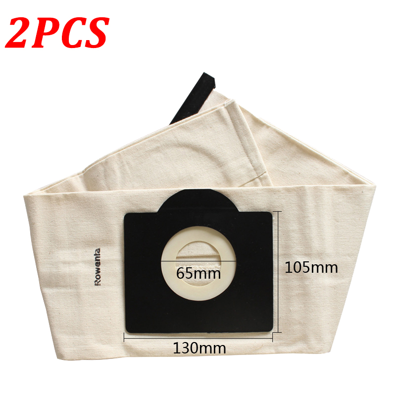 2PCS Washable Dust Filter Bag For Karcher WD3 MV3 WD3200 WD3300 SE4001 A2299 A2204 A2656 Vaccuum Cleaner Parts Accessories
