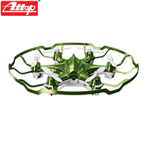 F18748/49 Attop YD-A6 Mini RC Quadcopter Drone 2.4G 4CH 6-axle Gyro RTF  360 Flips Headless Mode Night Light UFO Helicopter Toys