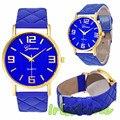 Irisshine i0525 lady Fashion Women Faux Leather Analog Quartz Wrist Watch women watches