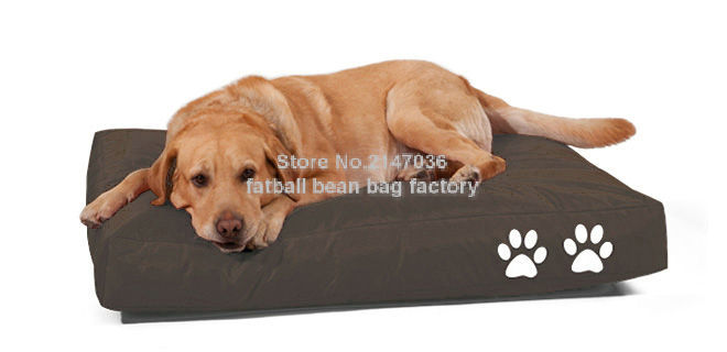 Fabulous Us 40 0 Two Paw Printed Bean Bag Dog Beds Extra Large Pet Sleeping Cushion Waterproof Comfort Pet Bedding In Houses Kennels Pens From Home Theyellowbook Wood Chair Design Ideas Theyellowbookinfo