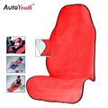 AUTOYOUTH Red Seat Cover Universal Fit All Auto Brand Car Seat Protector Pet Mat Dog Seat Cover