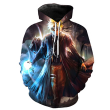 Aikooki Hot Anime Naruto Hoodies Men Women Winter pullovers 3D Hooded Oversized Sweatshirts Tops XXS-4XL