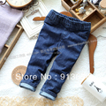 Весна осень одежда для младенцев девочек леггинсы младенцы джинсы дети узкие свободного покроя брюки дети джинсы