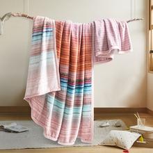 100*120cm Pattern Randomised Baby Blankets Newborn High-quality Super Soft Blanket Children Small Flannel Bedding