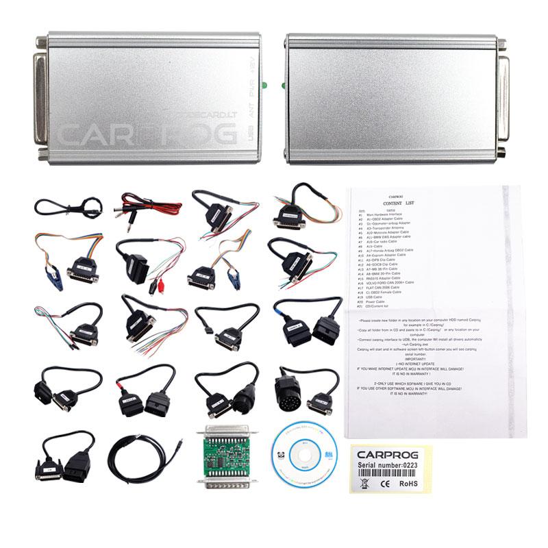CARPROG V10 0 5 / V8 21 Programmer Auto Repair Airbag Reset Tools