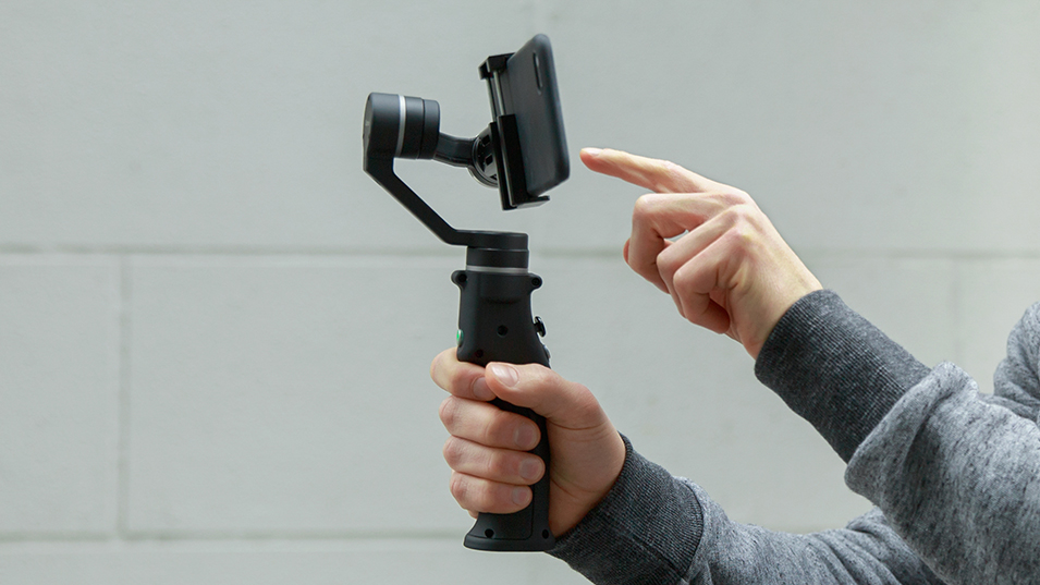 Capture 3-Axis Handheld Gimbal Stabilizer Face tracking Motorized Steadycam for iPhone X Samsung S8 Huawei P Pro 10