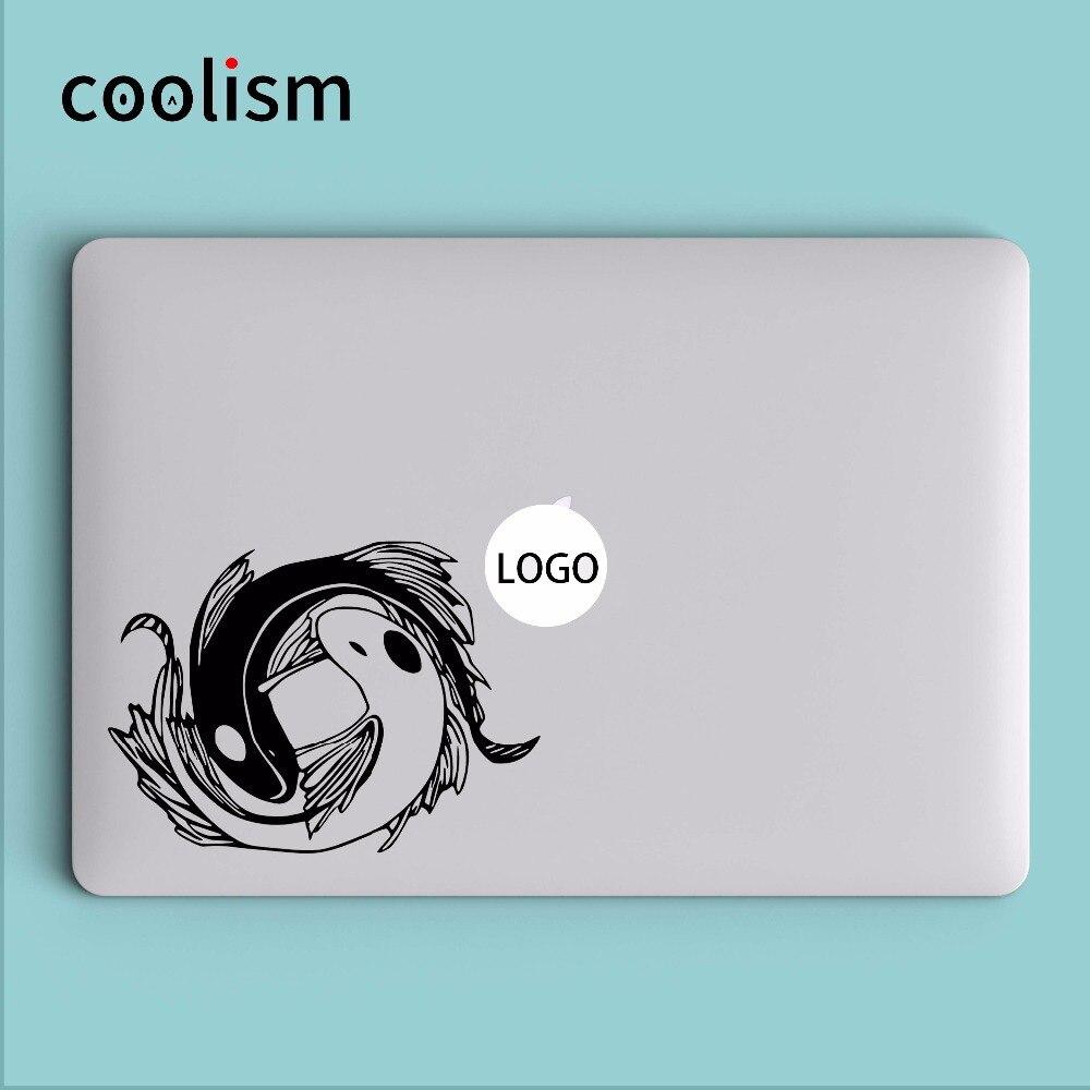 Koi poissons avatar the last airbender pour ordinateur portable decal sticker pour macbook decal air 13 pro retina 11 12 15 pouce notebook skin autocollant