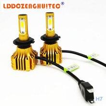 LDDCZENGTEC S5 H11 Car LED Headlight 72W COB LED H4 H7 H1 Headlight Bulb 6500 Headlamp for Toyota/VW/Hyundai/Kia/Chevrolet/Mazda цена 2017
