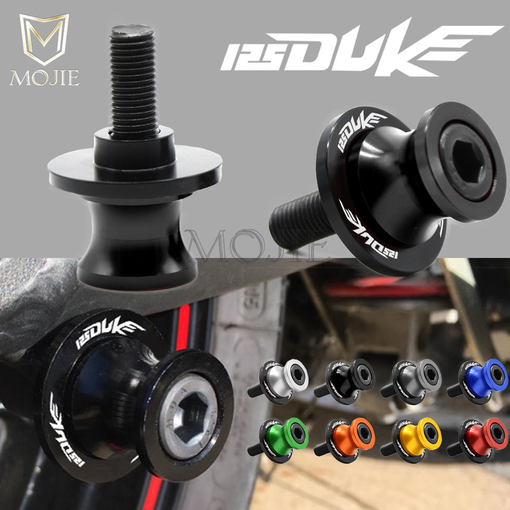 For KTM 125 DUKE 125 DUKE125 2012 2013 2014 2015 Swingarm Stand Motorcycle Stand Paddock 10MM Swingarm Sliders Spools DUKE 125 image