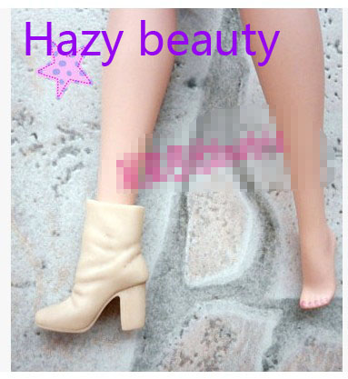 Hazy beauty different styles for choose Casual Boots High heel Dance Sports shoes for Barbie 1:6 Doll Fashion Newest BBI00128