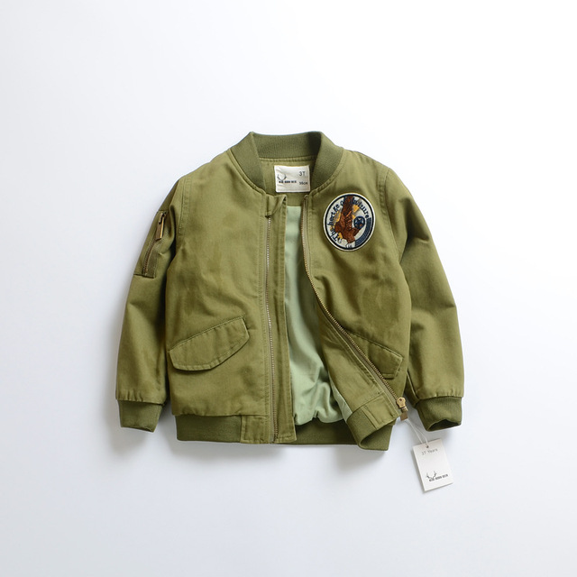 New 5 Color Baby Pure cotton Air force one baseball uniform coat Boys camouflage jacket wholesale