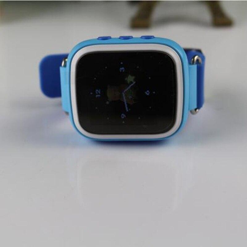 Galleria fotografica Enfants Montre GPS Q80 PK Q50 Smart Bébé Montre SOS Appel Anti Perdu Emplacement Tracker <font><b>Smartwatch</b></font> w/1.44