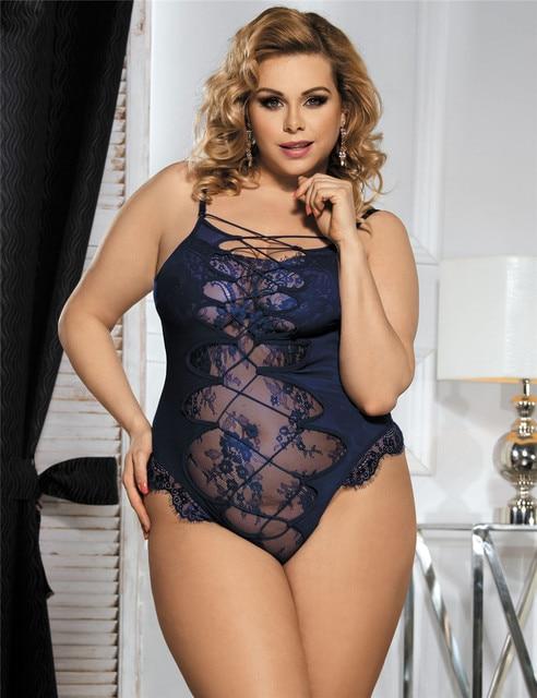 Sexy plus size apparel