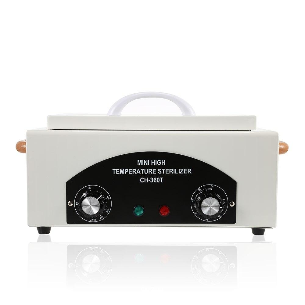 Portátil mini 110/220 v alta temperatura esterilizador toalha manicure ferramentas desinfecção gabinete esterilização aparelhos de limpeza